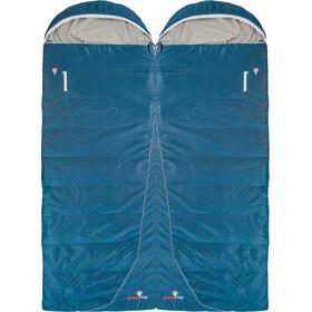 Grüezi-Bag Cloud Cotton Comfort Sleeping Bag, niebieski